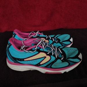 Newton Kismet Womens Size 9 Running Shoes Aqua